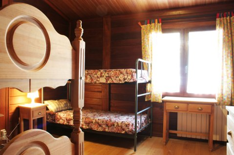 Habitación del albergue